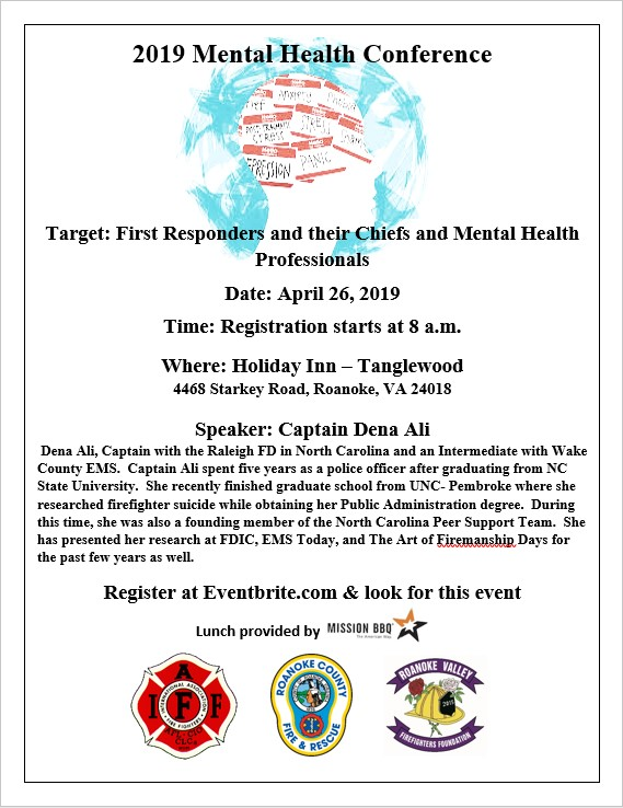 Mental Health Conference for Public Safety – Southwest Virginia